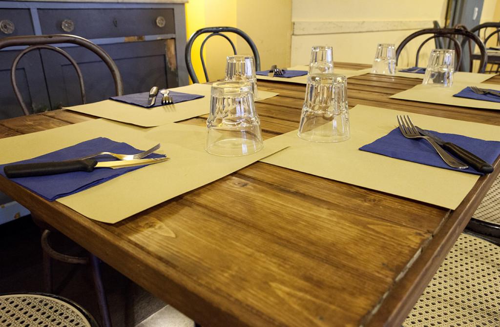 I nostri tavoli
